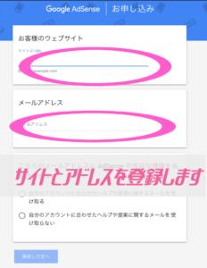グーグルアドセンスの登録方法:図解